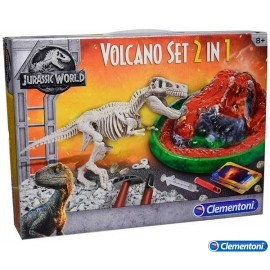 Arqueojugando T-Rex Volcan