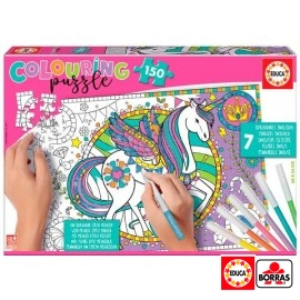 Puzzle 150 Unicornio Colourin