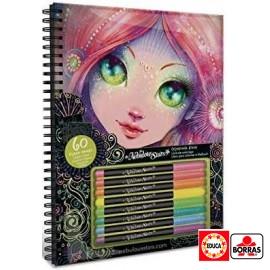 Libro Colorear Nebulous Stars