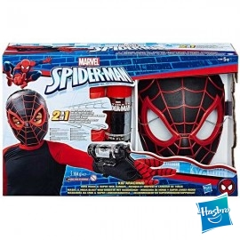 Spiderman Mascara Lanza Redes