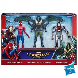 Spiderman Pack 3 Figuras