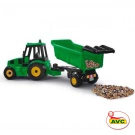 Tractor con Remolque 80 cm