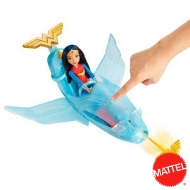 Wonder Woman con Jet
