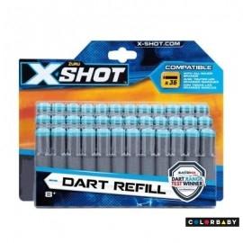 X-Shot Blister 36 Dardos