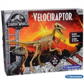 Arqueojugando Velociraptor