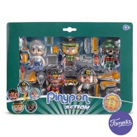 Pin y Pon Pack 5 Figuras Action