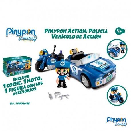 Pin y Pon Coche de Policia