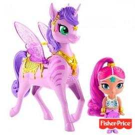 Shimmer & Shine y Unicornio Arcoiris