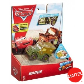 Cars Action Sarge