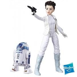 Figura Leia y R2d2 Star Wars