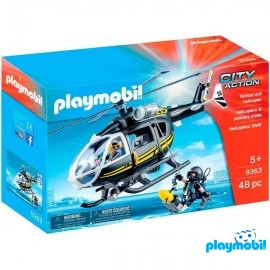 Helicoptero Swat 9363