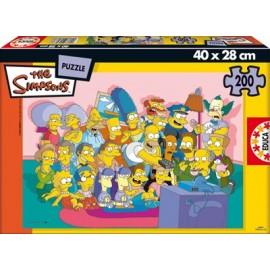 Puzzle 200 Los Simpsons