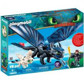 Dragons Hipo y Desdentao
