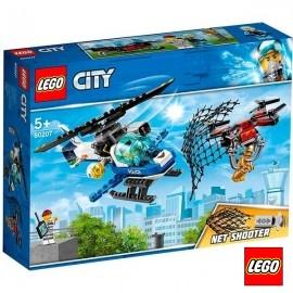 Lego Policia Caza al Dron