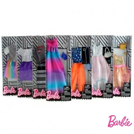 Vestido Barbie Moda Surtido
