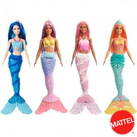 Barbie Sirena Dreamtopia Surtida