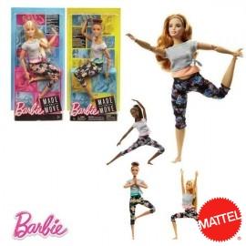 Barbie Movimientos Surtida