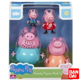 Blister 2 Figuras Peppa Pig Std.