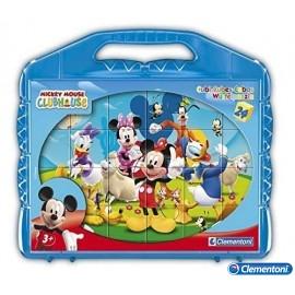 Rompecabezas 24 Cubos Mickey