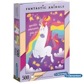 Puzzle 500 Unicornio