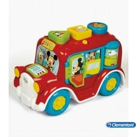 Autobus Mickey Formas y Colores