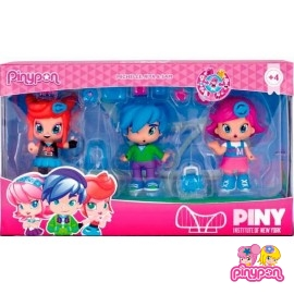Pin y Pon Pack 3 Figuras Piny