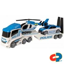 Camion Transporte Policia