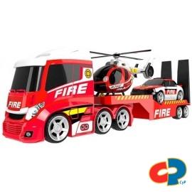 Camion Transporte Bomberos