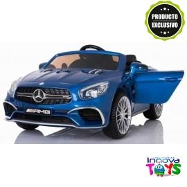 Coche Mercedes SL65 AMG 12v. R/C Azul