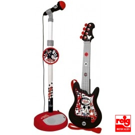 Set Guitarra y Micro Mickey