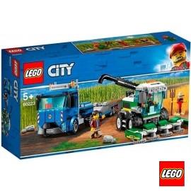 Lego Transporte Cosechadora
