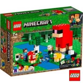Lego Minecraft Granja de Lana