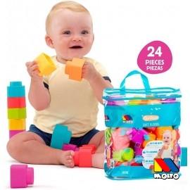 Bolsa 24 Piezas Blocks Soft