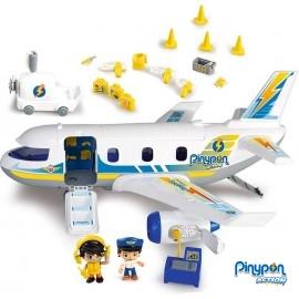 Pin y Pon Avion de Emergencias