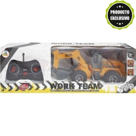 Excabadora R/C Work Team