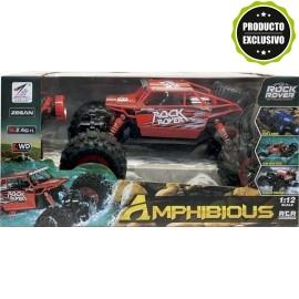 Coche R/C Rock Rover Amphibious