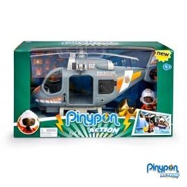 Pin y Pon Action Helicoptero de Rescate