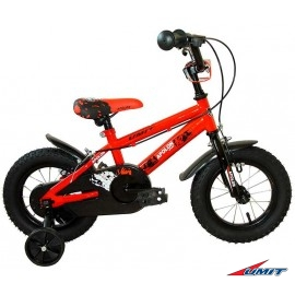 "Bicicleta 12"" Roja Apolon"