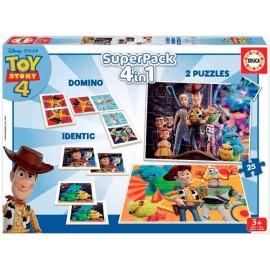 Superpack 4 en 1 ToyStory 4