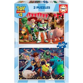 Puzzle 100x2 Toy Story
