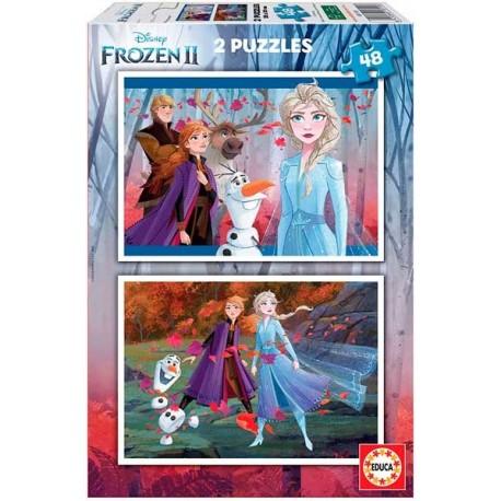 Puzzle 48x2 Frozen