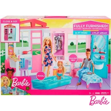 Casa Maletin Barbie