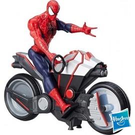 Spiderman con Moto