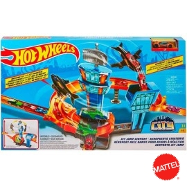 Pista Hot Wheels Aereopuerto