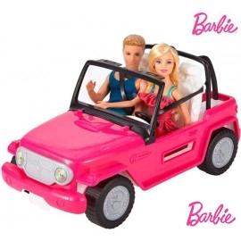 Coche Barbie y Ken