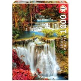 Puzzle 1000 Catarata en el Bosque