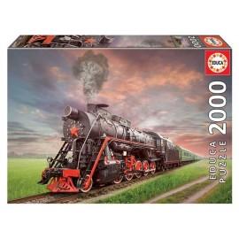 Puzzle 2000 Locomotora de Vapor