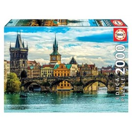 Puzzle 2000 Vistas de Praga