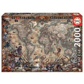 Puzzle 2000 Mapa de Piratas