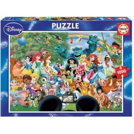 Puzzle 1000 El Maravilloso Mundo de Disney